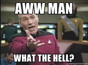Picard aww man