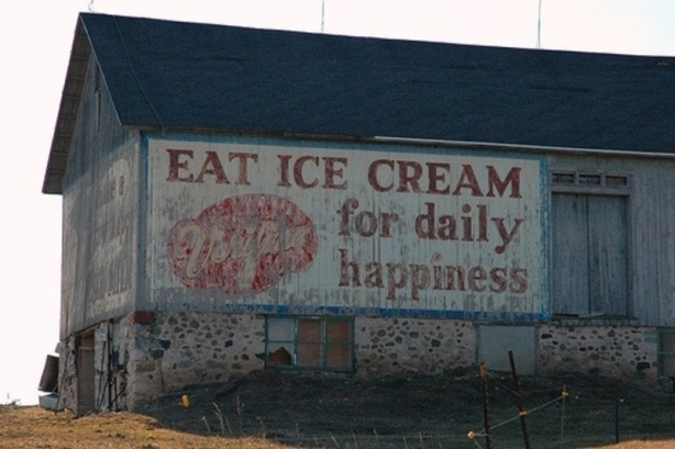 eat ice cream daily