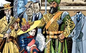 League of Extraordinary Gentlemen comics