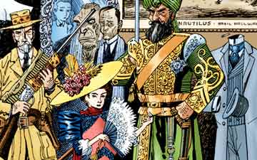 League of Extraordinary Gentlemen comics
