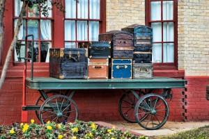 luggage old style