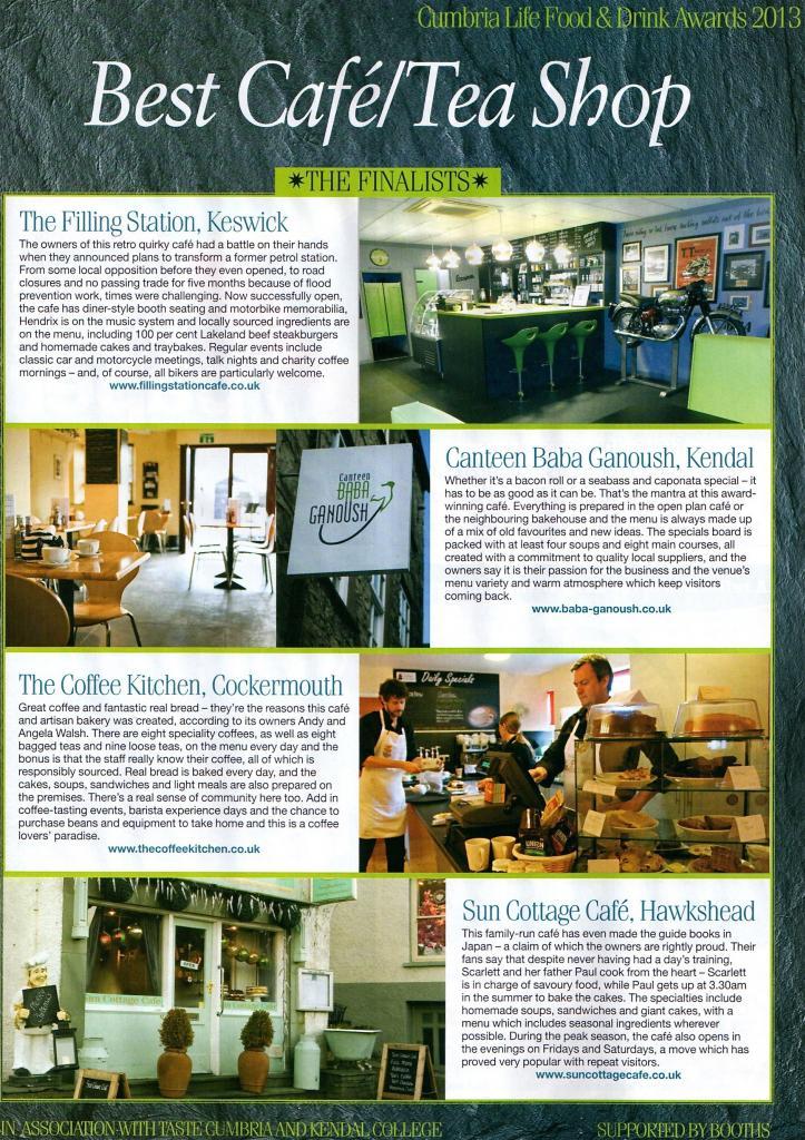 cafe filling station